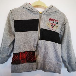 GUESS Baby Boy Zip Up Sweater